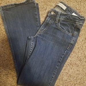 Womens Levi's 518 Superlow Bootcut Jeans Size 3S